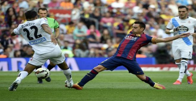 برشلونة مهدد بفقدان لقب الدوري الاسباني لهذا السبب