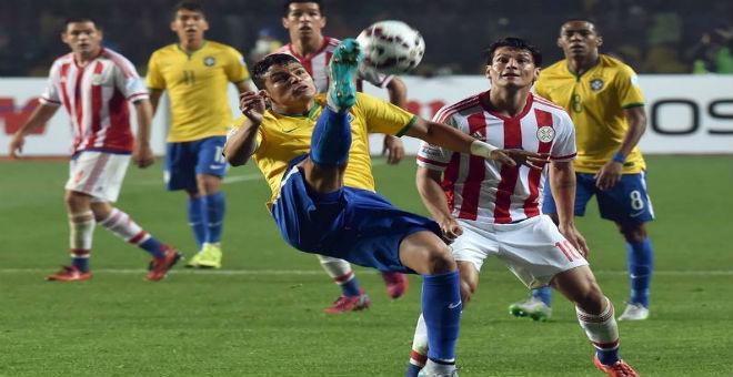 الباراغواي تخرج البرازيل من بطولة كوبا امريكا