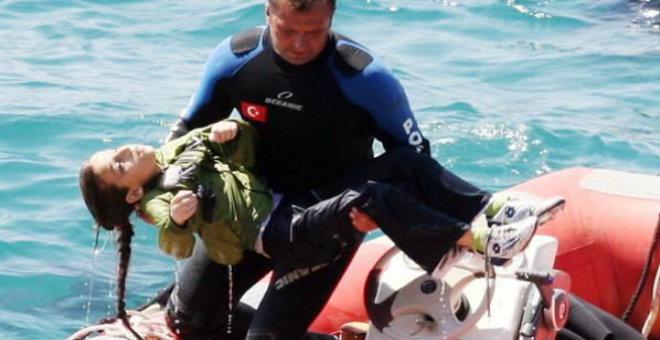 غرق مركب لمهاجرين سوريين قرب سواحل تركيا