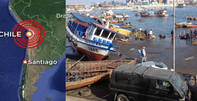 زلزال بقوة 6.4 درجة يضرب سواحل تشيلي