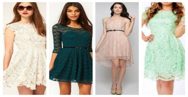 فستان الدانتيل يغازل أنوثتك في صيف 2015