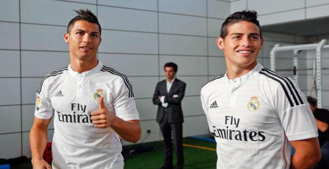 رونالدو وخاميس أفضل الهدافين من خارج المنطقة