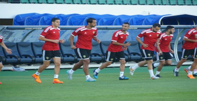 بنعطية حاضر في مباراة المنتخب أمام ليبيا