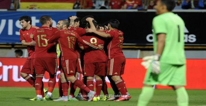 منتخب اسبانيا يفوز بصعوبة على كوستاريكا