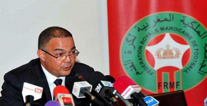 لقجع: الجامعة تعمل على اعادة حضور المغرب قاريا