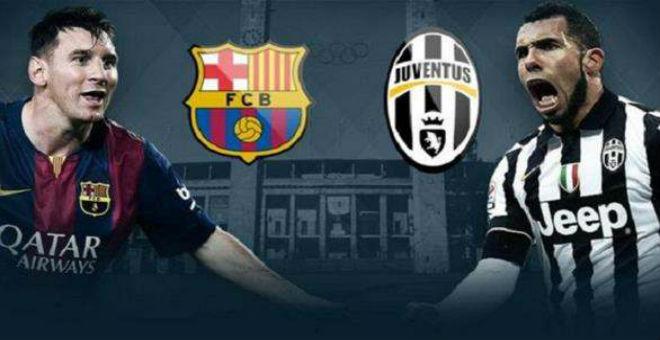 نقل مباشر لنهائي دوري الأبطال :برشلونة -يوفنتوس