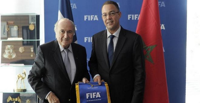 الجامعة تلغي زيارة رئيس الفيفا بلاتر للمغرب