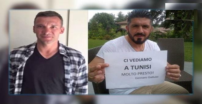 غاتوزو وشيفتشينكو في تونس لمتابعة النهائي