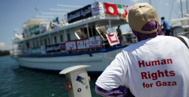 إسرائيل عازمة على منع أسطول الحرية للمرة الثالثة