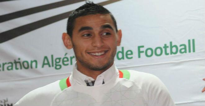 أتلتيكو مدريد يطلب التعاقد مع الجزائري فوزي غلام