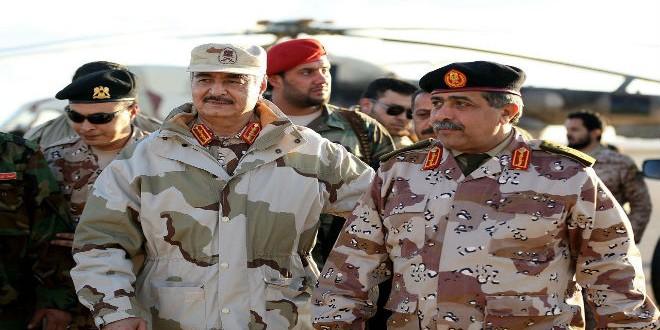حظر بيع السلاح إلى ليبيا