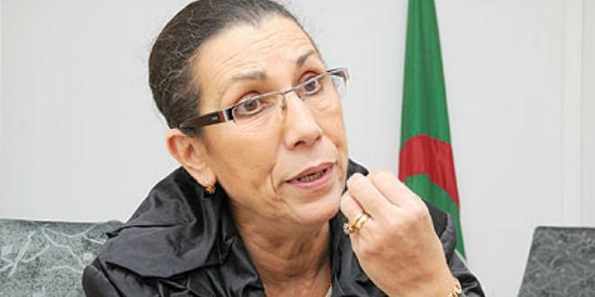 """زعيمة """"حزب العمال"""" الجزائري لويزة حنون"""