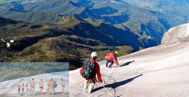 سائحة بريطانية تعتذر لماليزيا عن التعري في الجبل المقدس