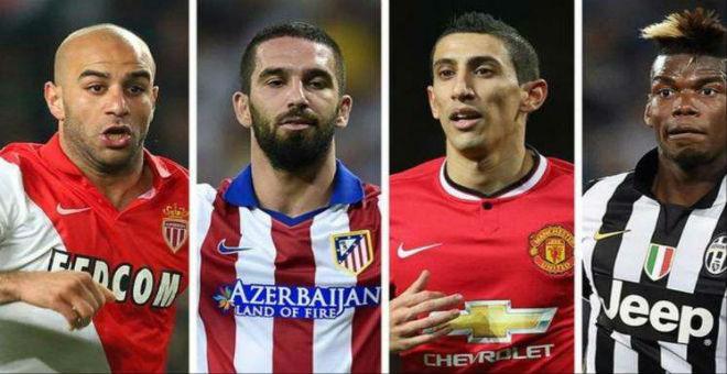 لاعبون متألقون في قائمة انتدابات برشلونة