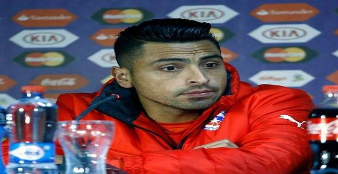 ايقاف مدافع الشيلي ثلاث مباريات بسبب كافاني