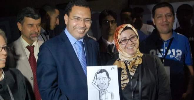 غياب المرأة المغربية عن الكاريكاتير يثير الجدل في ملتقى شفشاون