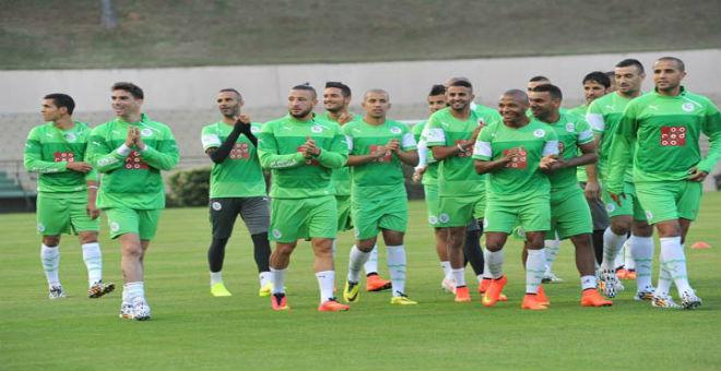 الخضر يقابلون السنغال وغينيا وديا في أكتوبر
