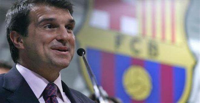لابورتا يؤكد ترشحه انتخابات رئاسة برشلونة