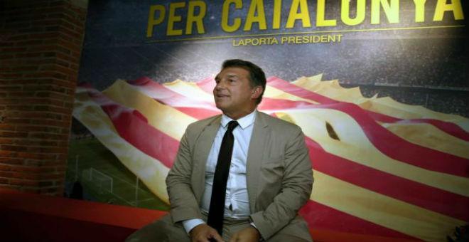 لابورتا يهاجم قطر في حملته لرئاسة برشلونة