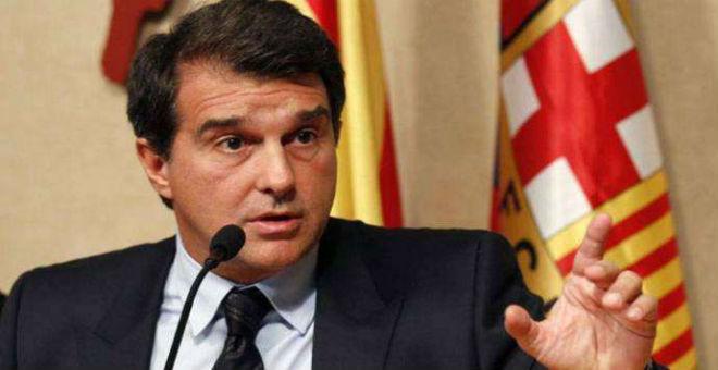 لابورتا يشك في بيع برشلونة لدولة قطر