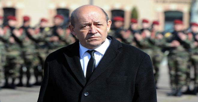 وزير الدفاع الفرنسي يدعو الليبيين للوحدة لمواجهة