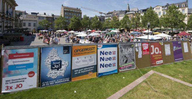 استفتاء لوغسمبورغ يرفض إعطاء حق التصويت للأجانب