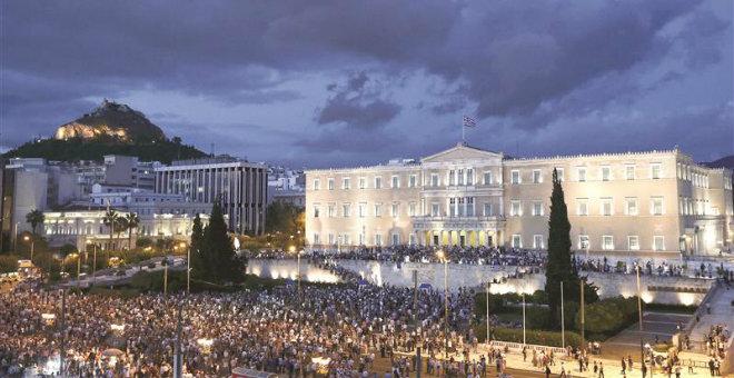 قمة طارئة لمنطقة اليورو لمناقشة عاجلة لوضع اليونان