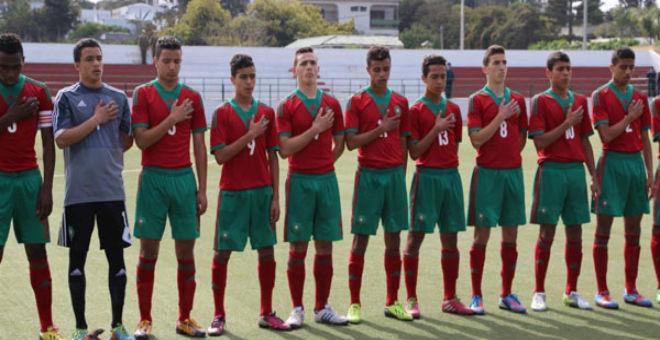 المنتخب المغربي للفتيان يفوز بكأس شمال افريقيا