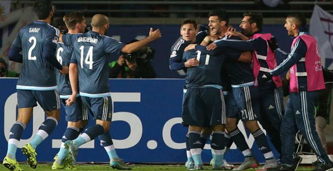 الأرجنتين تفوز على الأوروغواي بهدف وحيد