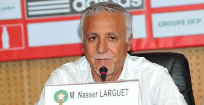 ناصر لارغيت يعتزم تغيير مدربي المنتخبات الوطنية