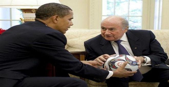 أوباما: كرة القدم تجارة كبيرة تفتقد للنزاهة