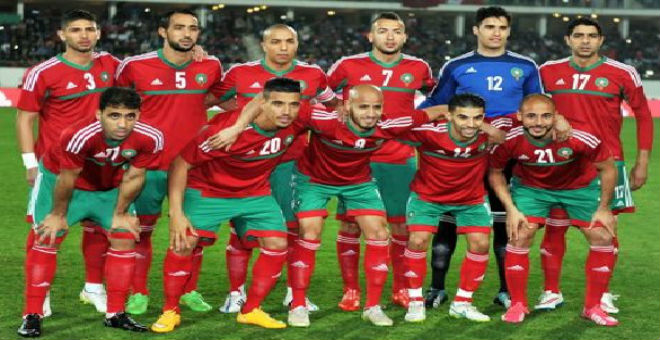 المنتخب المغربي يحقق تقدما مهما في تصنيف الفيفا