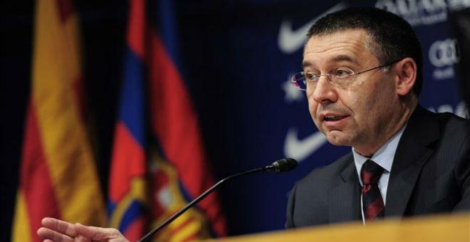 رئيس برشلونة ينفي وجود مفاوضات مع كوكي