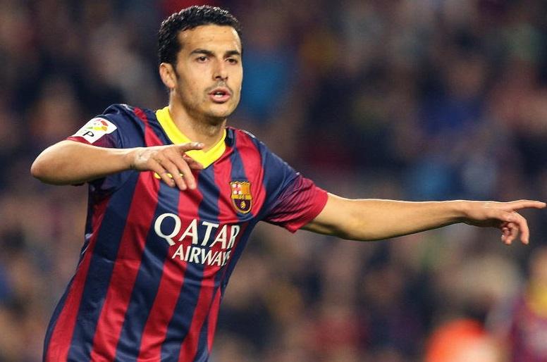 فريق برشلونة يجدد عقد بيدرو حتى 2019