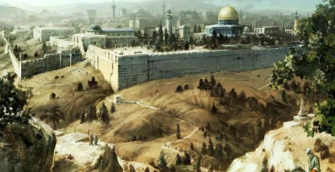 القدس وفلسطين في رحلة