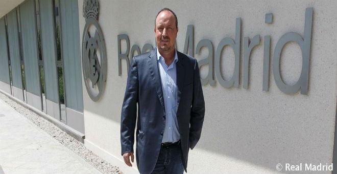 رافائيل بينيتيز مدرب ريال مدريد الجديد
