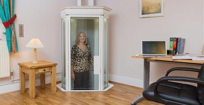 مصعد ثوري يمكن أن يستبدل السلالم في المنازل