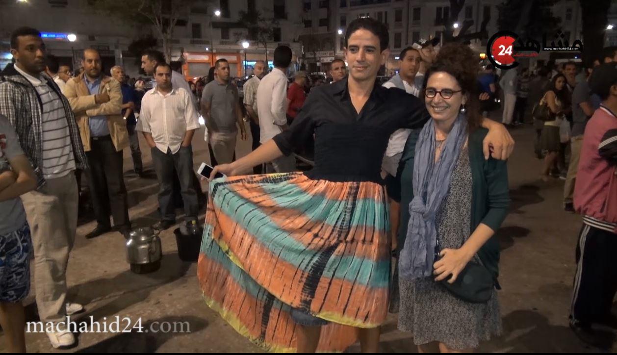 عثمان كجي: لبست الصايا مساندة للمغربيات