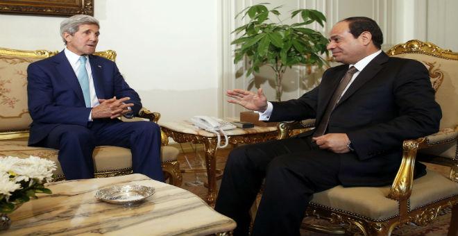 مصر تطلب مساعدة أمريكية لتأمين حدودها مع ليبيا