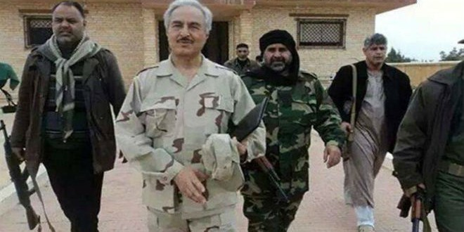 التدخل الروسي في ليبيا
