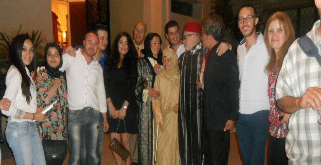 جمعية سلا المستقبل تحتفي بالكاتب  الأستاذ محمد أديب السلاوي