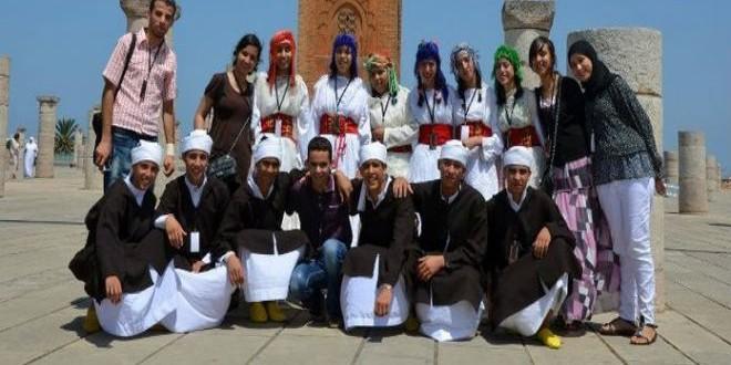 أطفال المهرجان في حسان