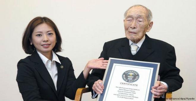 وفاة أكبر معمر في العالم عن 112 عاما