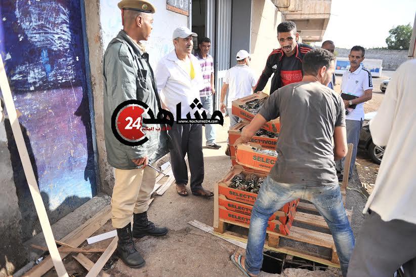 عاجل: إحباط ترويج 2 طنّ من الفواكه الفاسدة في الدار البيضاء