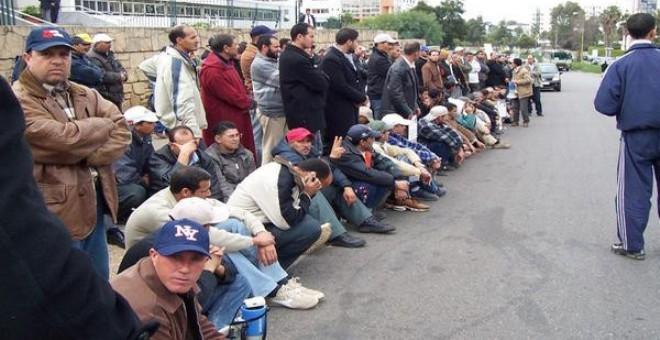 المعطلون يقررون الاحتجاج في مسيرة وطنية بالرباط