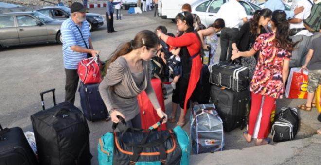 37  ألف و590 مغربيا مقيما بالخارج عبروا باب سبتة
