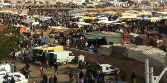 السوق الأسبوعي بومية