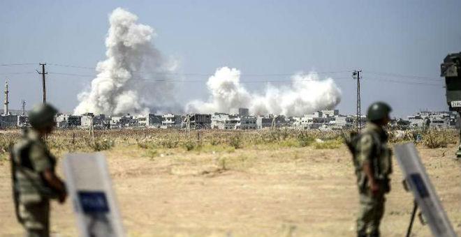 تركيا تواصل عملياتها العسكرية الجوية ضد