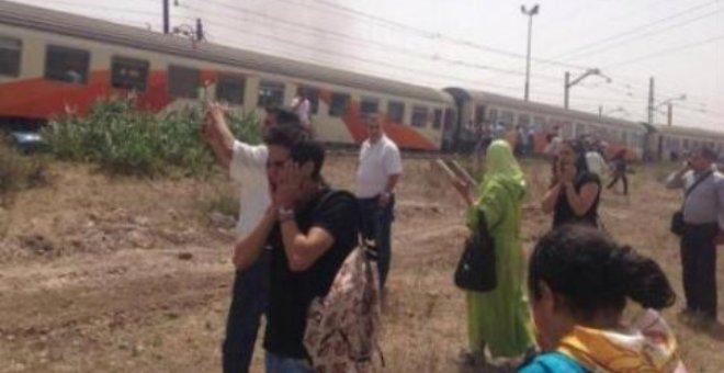 اصطدام بين قطار وشاحنة في مدخل أصيلة بشمال المغرب