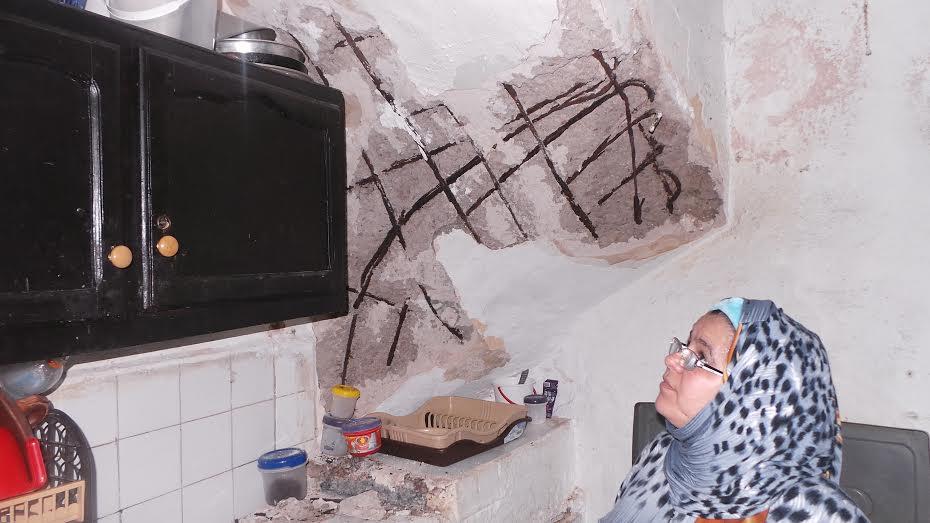 انهيار سقف منزلين في  المدينة العتيقة في الدار البيضاء
